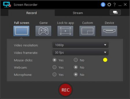 ключ CyberLink Screen Recorder 2