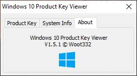 Windows 10 Product Key View Версия