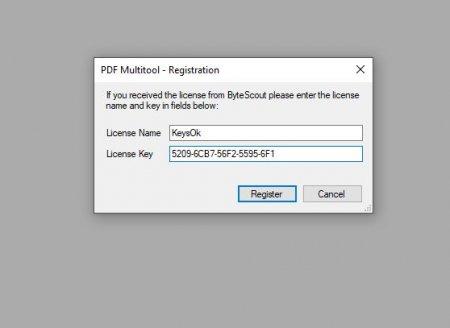 ключ PDF Multitool